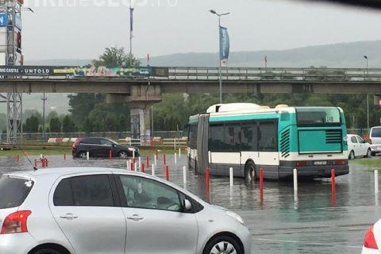 Lacul de la Polus Center Cluj - VIDEO