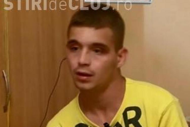 Ce spune băiatul bătut cu sălbăticie de doi tineri la Cluj: M-au obligat să trag 5 fumuri