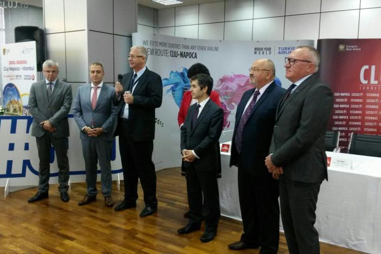 Turkish Airlines își lansează a treia rută din România, Cluj-Istanbul. Ce oferte anunță compania FOTO/VIDEO