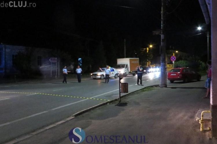 Clujean lovit de mașină în timp ce traversa strada, chiar lângă spitalul din Gherla