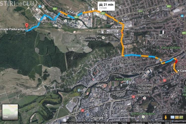 Clujenii de pe strada Triajului așteaptă asfaltul de opt ani