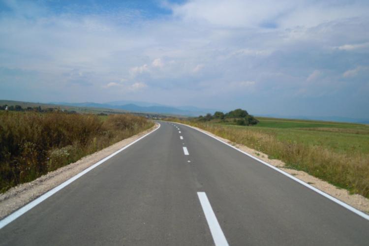 Drumul judeţean Şaula – limită cu judeţul Sălaj a fost finalizat