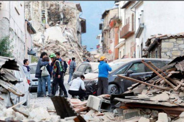 Anunțul MAE, după cutremurul din Italia: Până acum nu am primit solicitări de la români