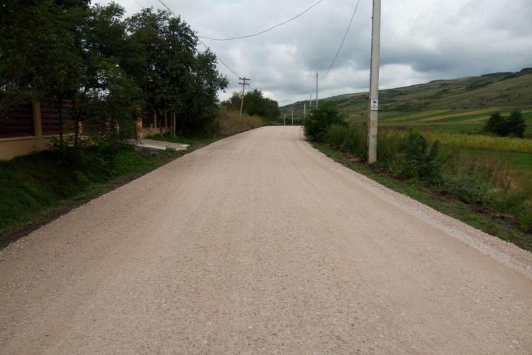 Drumul judeţean Fundătura - Cornești va fi asfaltat