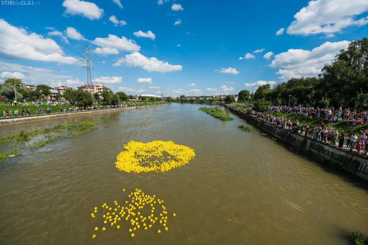 Cursa Rățuștelor de la Cluj a adunat donații în valoare de 4.000 de Euro