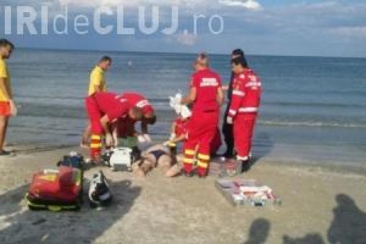 Doi clujeni, tată și fiu, s-au înecat în Marea Neagră, la Mangalia (pe plaja Laguna)
