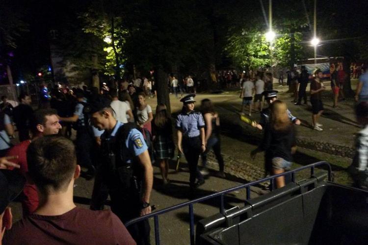 Filmul agresiunii! Cum s-au bătut culturiștii cu polițiștii la Untold