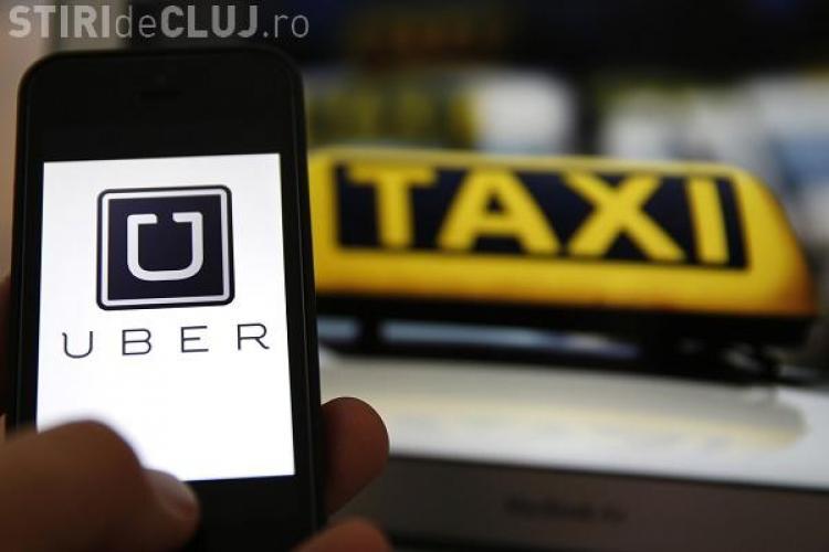 Patru șoferi Uber din București, amendați cu 25.000 de lei la Cluj