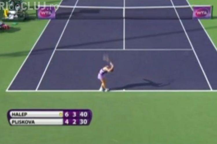 Simona Halep a fost învinsă în semifinalele de la Cincinnati. Nu a reușit să îi facă fața lui Kerber