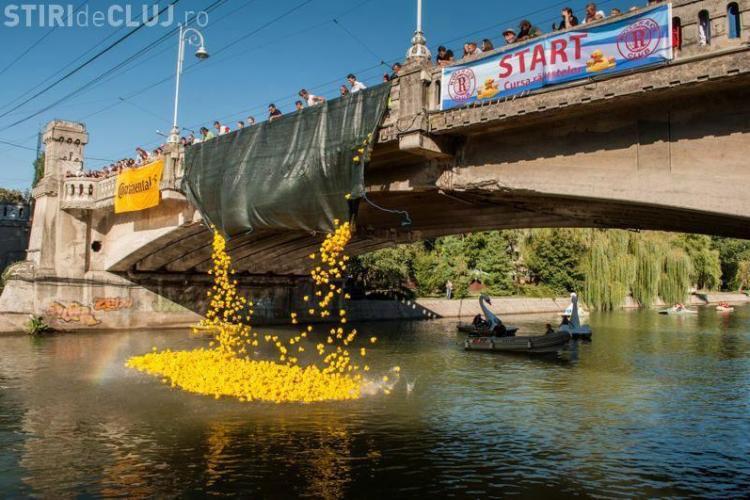 Cluj - Cursa Rățuștelor are loc pe râul Someș. Banii adunați vor fi donați