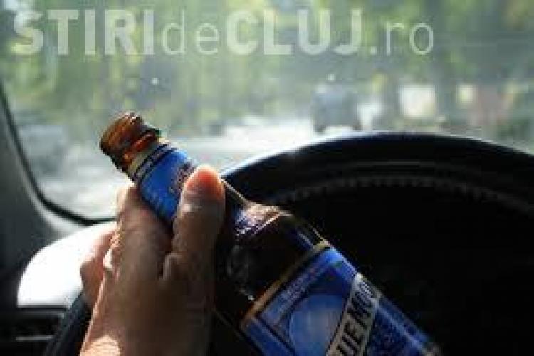 Clujean oprit de polițiști după ce s-a urcat la volan deși era beat și nu avea permis. S-a ales cu dosar penal