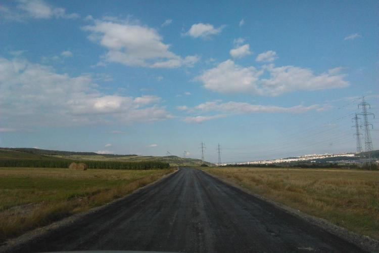 Pe mini-centura Florești - Grigorescu se toarnă asfalt