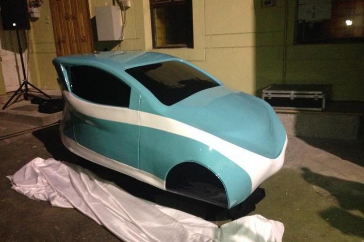 Cum arată prima mașină electrică românească, produsă parțial la Cluj-Napoca - FOTO