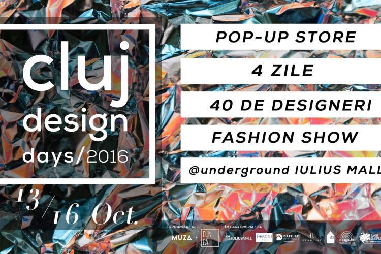 Artiștii români își prezintă creațiile inedite în cadrul Cluj Design Days, la Iulius Mall
