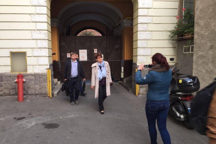 Viceprimărița Clujului, Anna Horvath, dusă la DNA pentru audieri / UPDATE: Nu a fost reținută - VIDEO