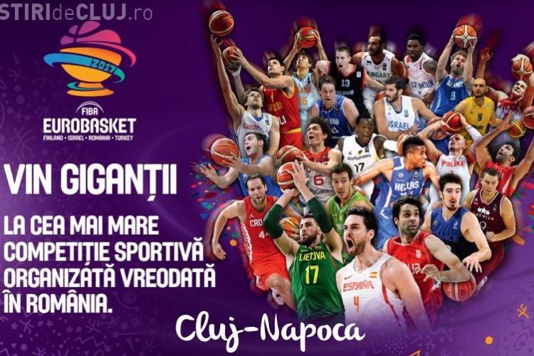 FIBA EUROBASKET 2017 la Cluj - S-au pus în vânzare biletele. PREȚURI și REDUCERI