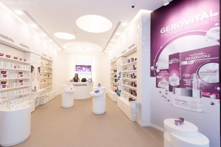 Farmec deschide la București primul magazin Gerovital din România (P)