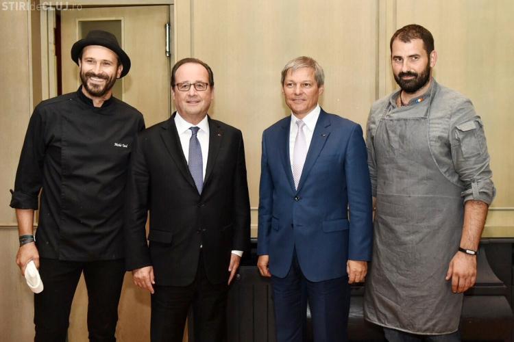 Adi Hădean i-a gătit lui Cioloș și președintelui François Hollande