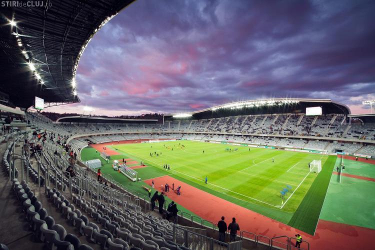 Consiliul Județean Cluj a aprobat transferarea Cluj Arena către Primăria Cluj-Napoca