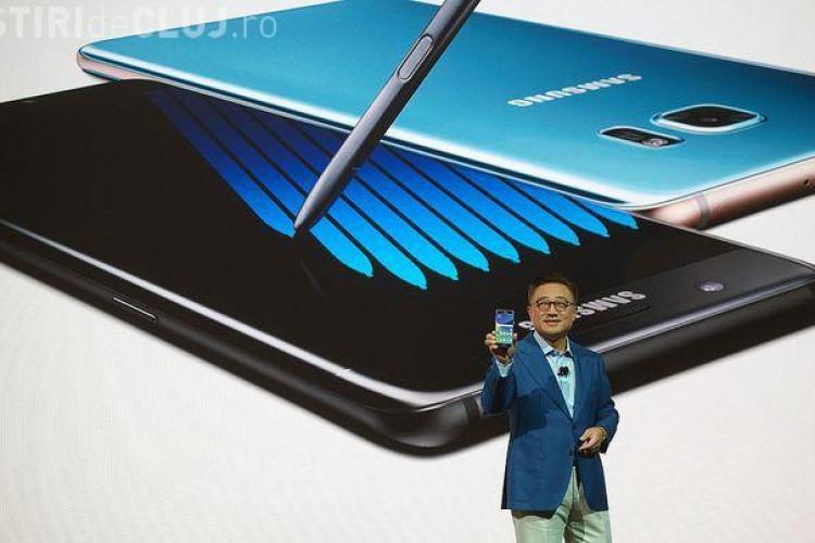ANUNȚ BOMBĂ de la Samsung! Toți utilizatorii Note 7 au fost avertizați să își oprească telefoanele