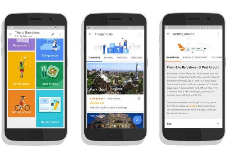 Google a lansat o aplicație destinată călătorilor. Ce știe să facă Google Trips