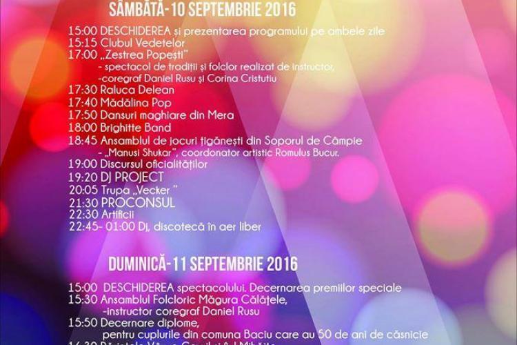 Zilele comunei Baciu. Program și concerte