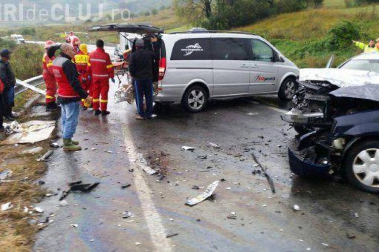 Angajată de la Primăria Apahida, în stare gravă în urma unui accident. A zăcut ore în șir în ploaie până să vină medicii