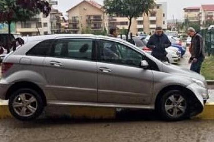 Incident INCREDIBIL! Ce a făcut acest șofer din Cluj - FOTO