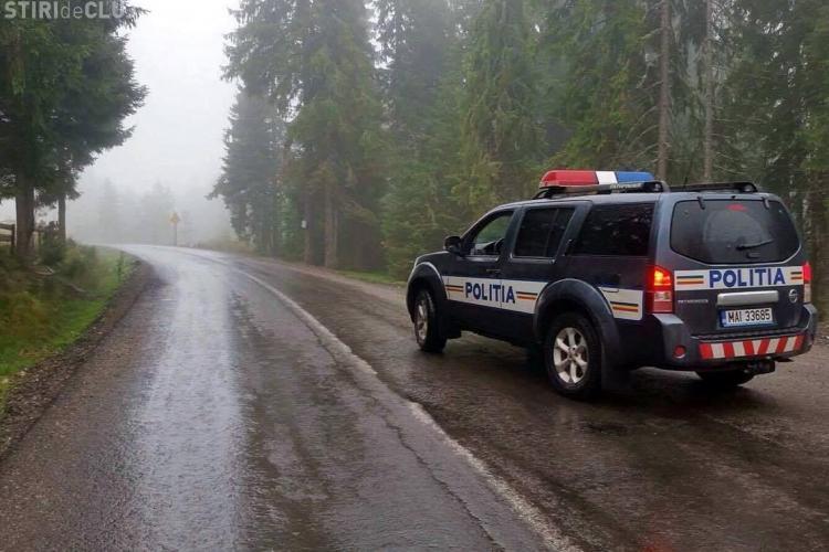 Avertismentele polițiștilor pentru șoferii clujeni! Cum trebuie să conduceți pe timp ploios