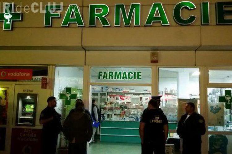 Un militar din Cluj a dat un ATAC la o farmacie! A stropit-o cu benzină pe farmacistă și a cerut BANII
