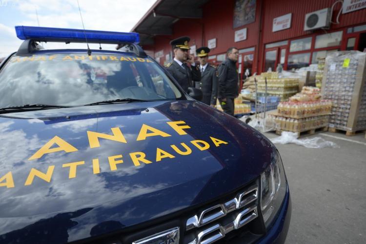Razie ANAF în piața Agro Transilvania din Dezmir