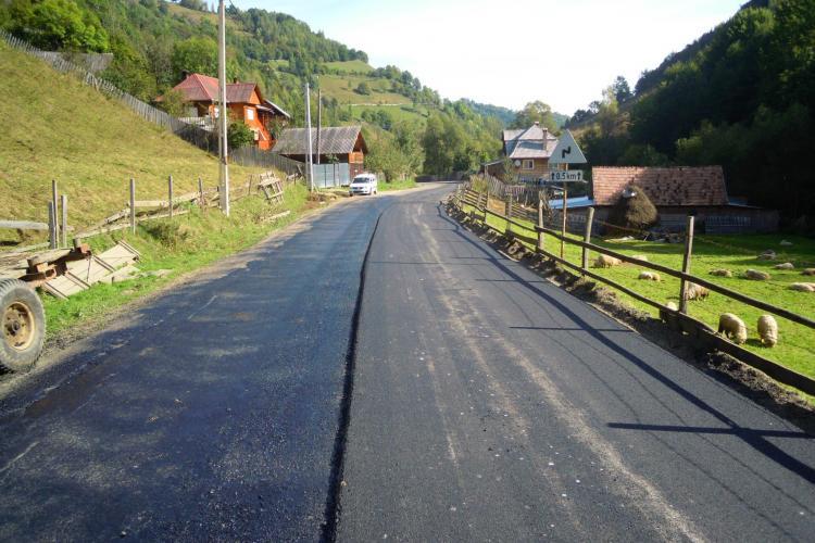 Drumul Băișoara - Muntele Băișorii va fi pregătit pentru sezonul de schi - FOTO