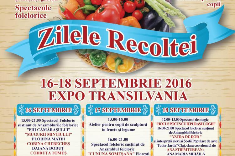 """""""Zilele Recoltei"""" au loc la Cluj-Napoca"""
