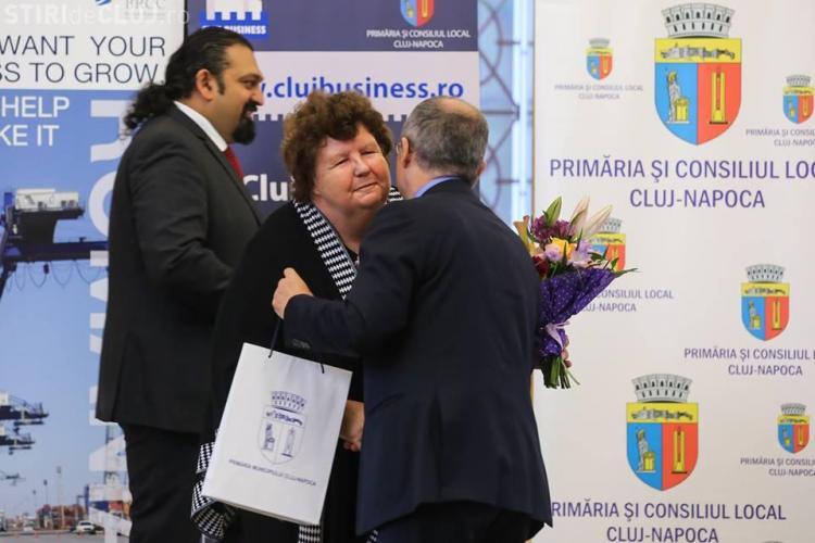 """""""Sally inimă de aur"""" a fost premiată de comunitatea clujeană - FOTO"""