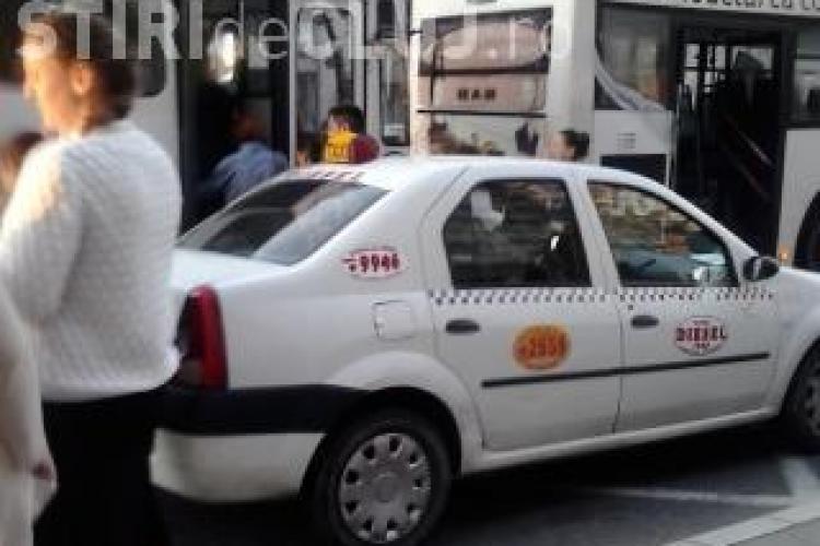 Cluj-Napoca: Amenzi pentru taximetriștii care folosesc stațiile de autobuz