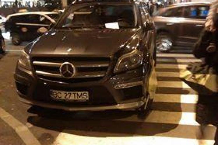 Nesimțirea este pedepsită la Iulius Mall Cluj. Ce a pățit acest șofer vor păți toți - FOTO