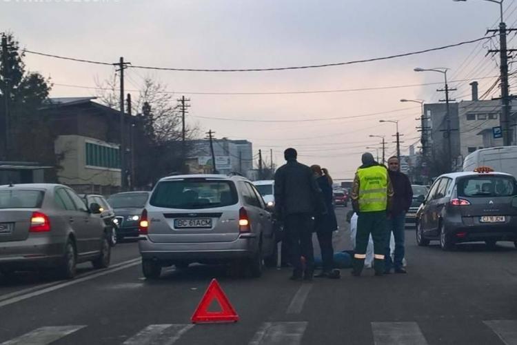 Accident pe strada Câmpina! Un pieton a fost accidentat grav