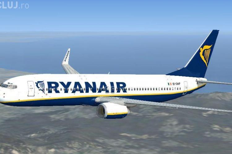 Ryanair vinde azi bilete de avion cu 2 euro