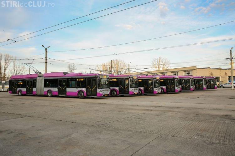Cum arată cele 6 noi troleibuze puse în circulație din 8 noiembrie - FOTO