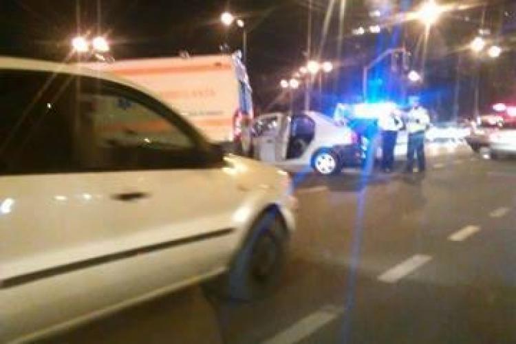 Accident grav în Mărăști, la intersecția străzilor București și Fabricii - FOTO