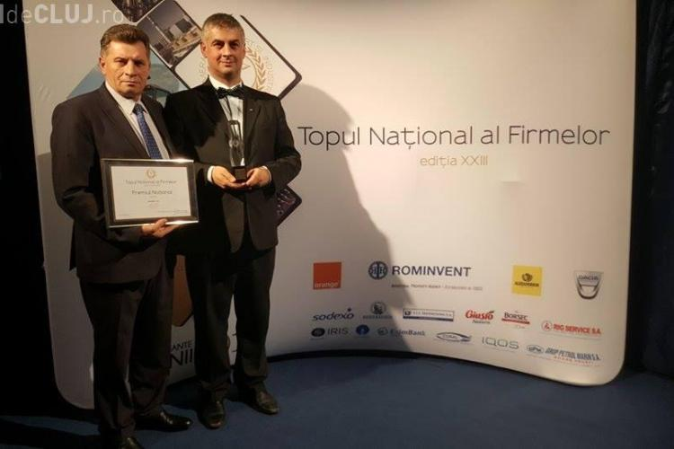 """S.C. """"Univers T"""" S.A., premiul I în Topul Naţional al Firmelor, secţiunea Comerţ - Turism, întreprinderi mijlocii"""