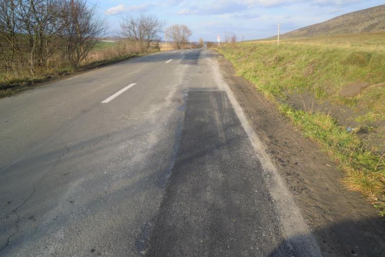 Cluj: Se repară ruta alternativă de acces către Cheile Turzii şi către lacurile de la Ciurila