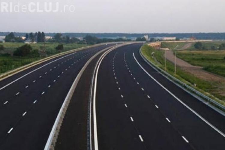 Câți kilometri de autostradă vor fi terminați în 2017. Clujul e FAVORIZAT