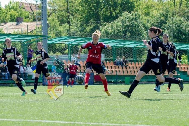 Olimpia Cluj a terminat sezonul cu o victorie în Copou