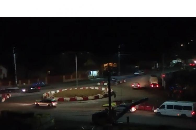 Un nou sens giratoriu din Apahida i-a dat peste cap pe șoferi - VIDEO amuzant