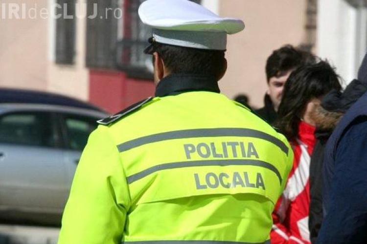 Polițiștii locali din Cluj-Napoca au prins un hoț recidivist. Fac concurență Poliției naționale