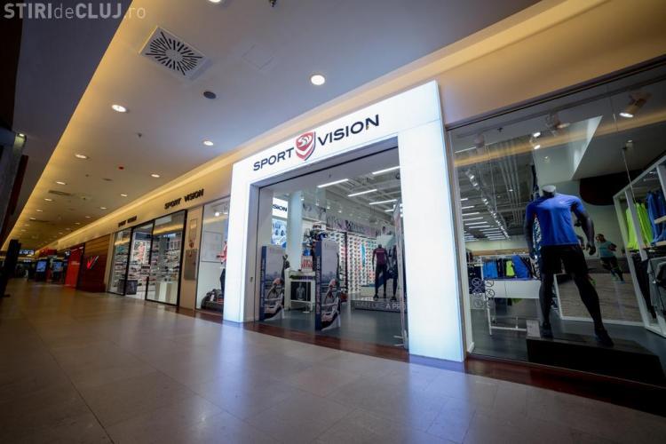 Un nou magazin la Iulius Mall Cluj. Sport Vision și-a deschis prima unitate din nord-vestul țării