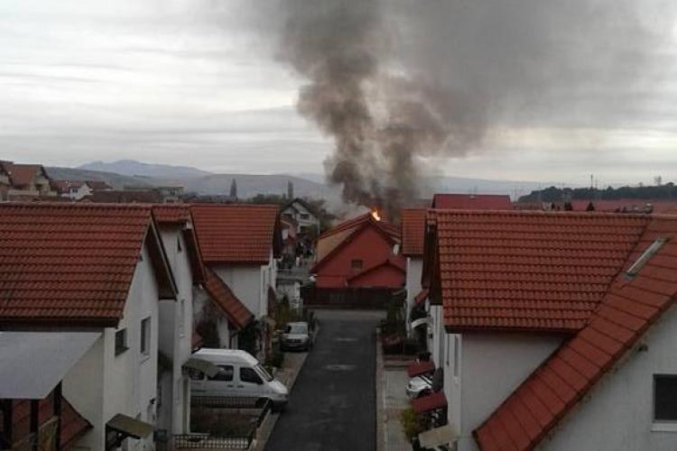 Incendiu în Florești, la un duplex. Ce s-a întâmplat