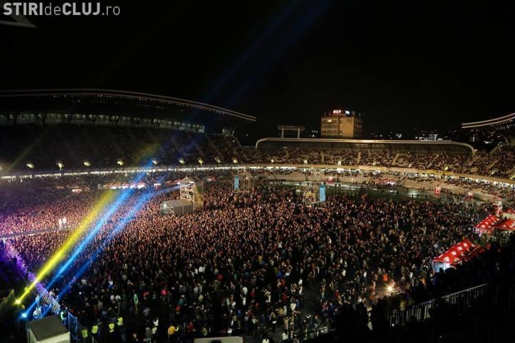 Trei concerte mari pe Cluj Arena în 2017