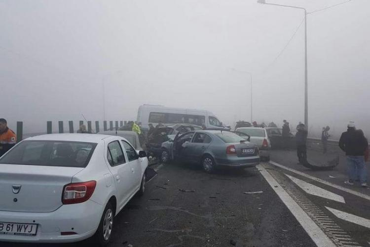 FOTO / VIDEO: Accident GRAV pe Autostrada Soarelui: 4 morți și zeci de răniți
